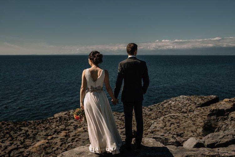 116 intimate newtown castle wedding dough mor lodge the wild atlantic way