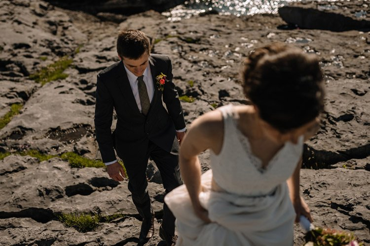 133 intimate newtown castle wedding dough mor lodge the wild atlantic way