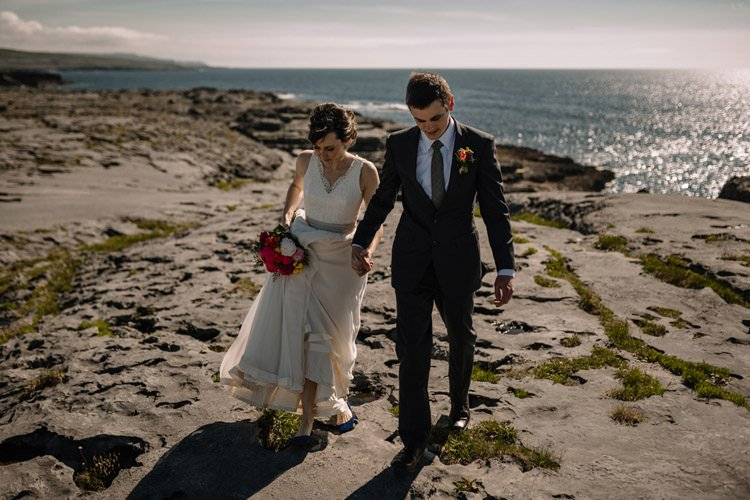 134 intimate newtown castle wedding dough mor lodge the wild atlantic way