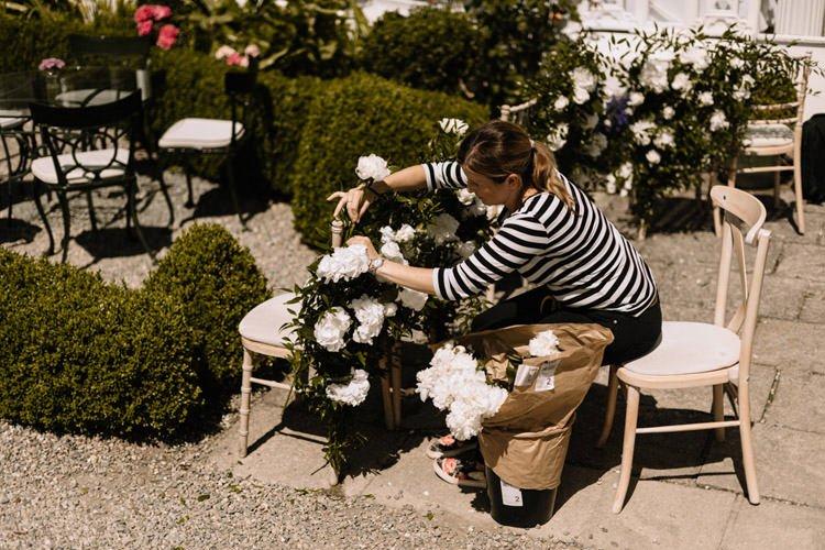 007 summer outdoor wedding at marlfield house wedding photographer