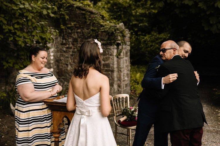 067 roundwood house intimate wedding