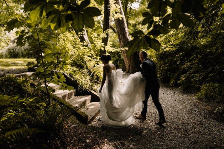 120 summer outdoor wedding at marlfield house wedding photographer