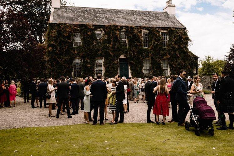 132 ballintubbert house wedding wedding photographer ireland rustic style