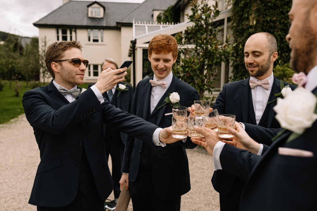 055 wedding at the brooklodge macreddin village wedding photographer wicklow