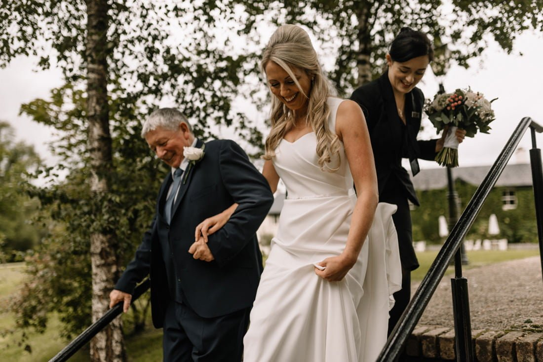 062 wedding at the brooklodge macreddin village wedding photographer wicklow