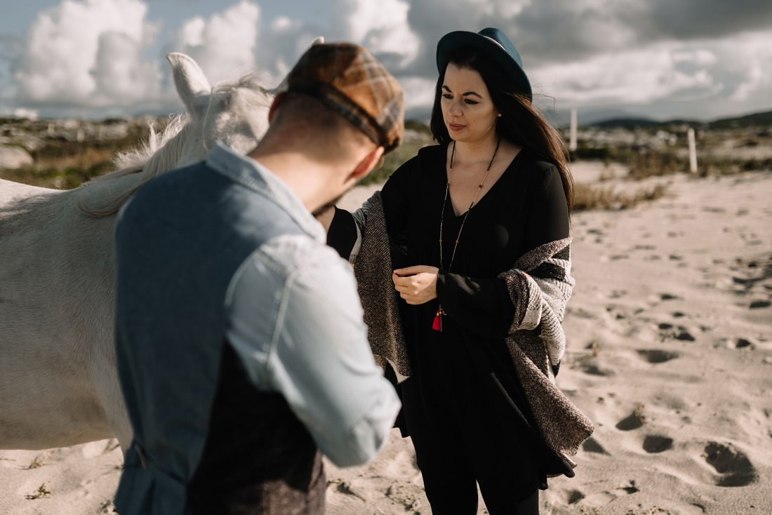 056 clifden galway wedding photographer engagement session
