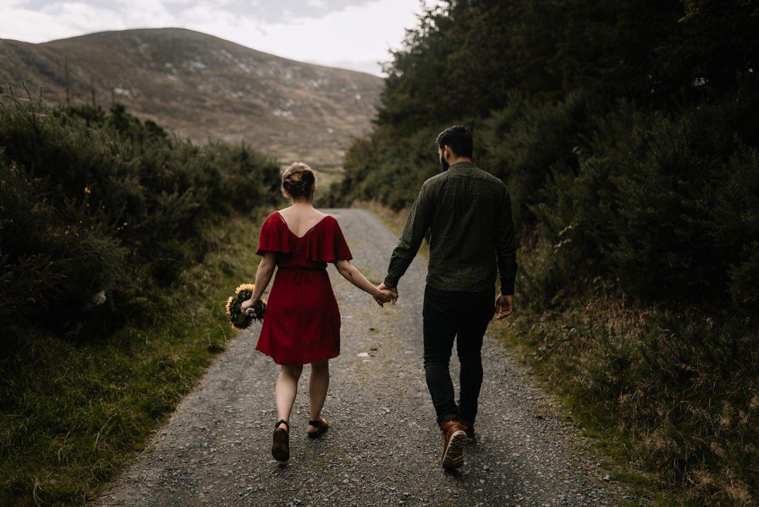 002 northern ireland wedding photographer mourne mountains elopement