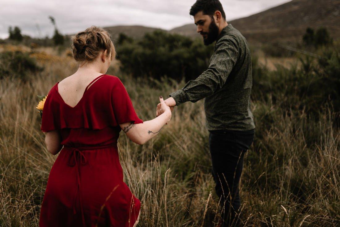 007 northern ireland wedding photographer mourne mountains elopement