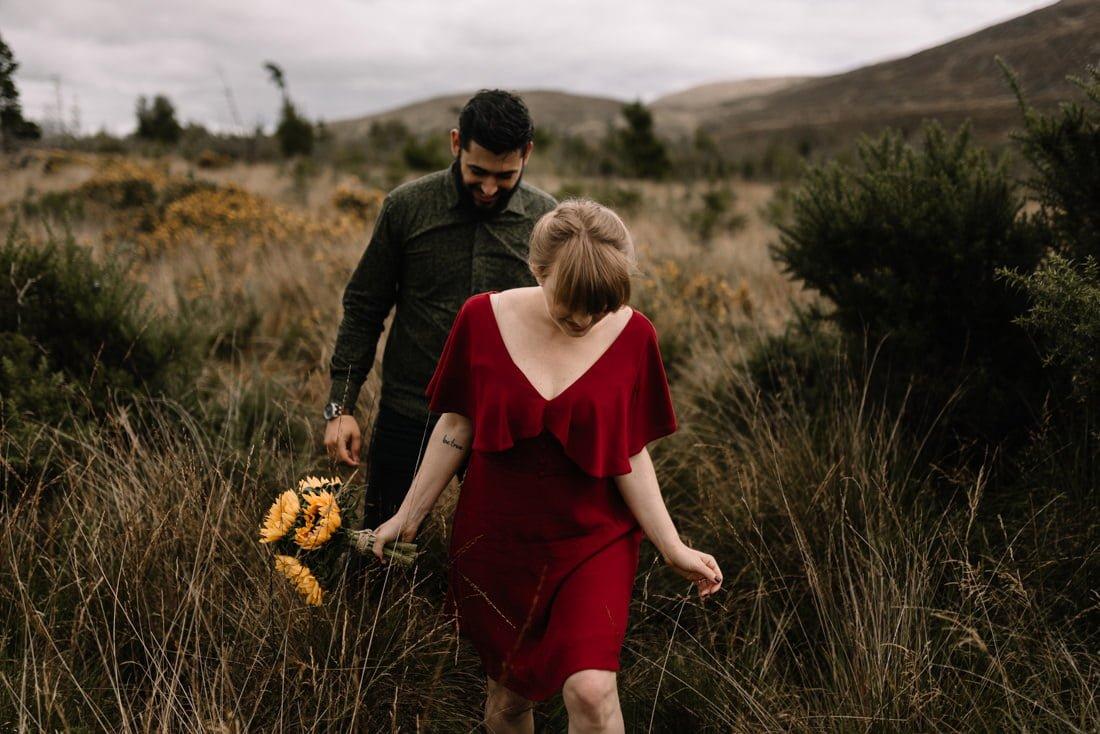 012 northern ireland wedding photographer mourne mountains elopement