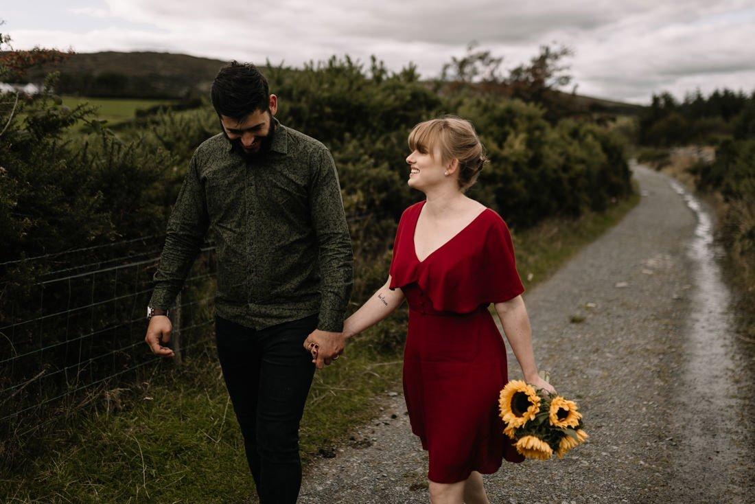 014 northern ireland wedding photographer mourne mountains elopement