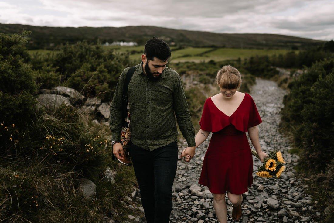 017 northern ireland wedding photographer mourne mountains elopement