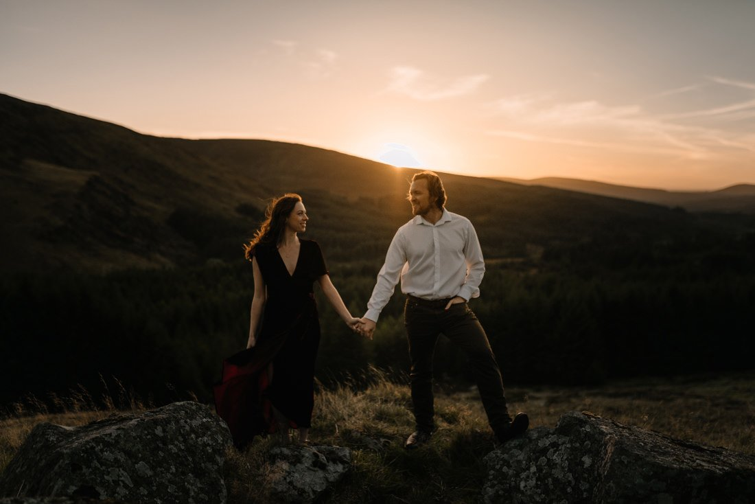 018 glendalough engagement session wedding photographer dublin