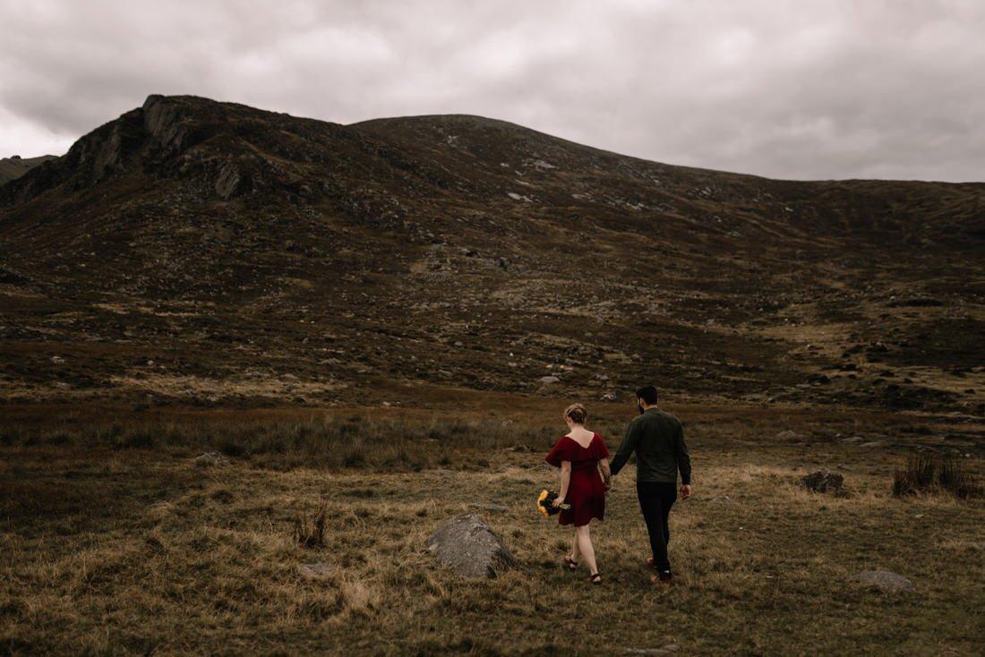 019 northern ireland wedding photographer mourne mountains elopement