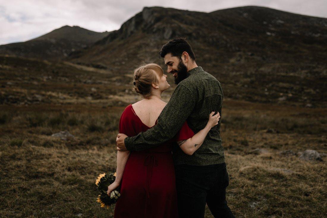 021 northern ireland wedding photographer mourne mountains elopement