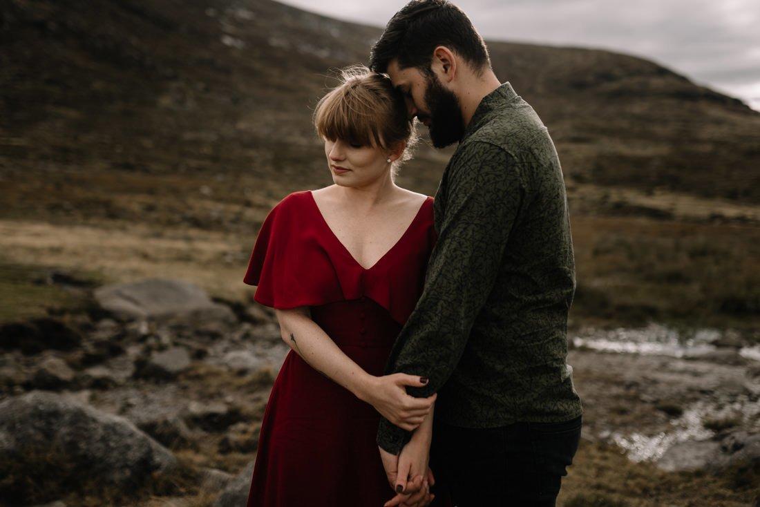 028 northern ireland wedding photographer mourne mountains elopement