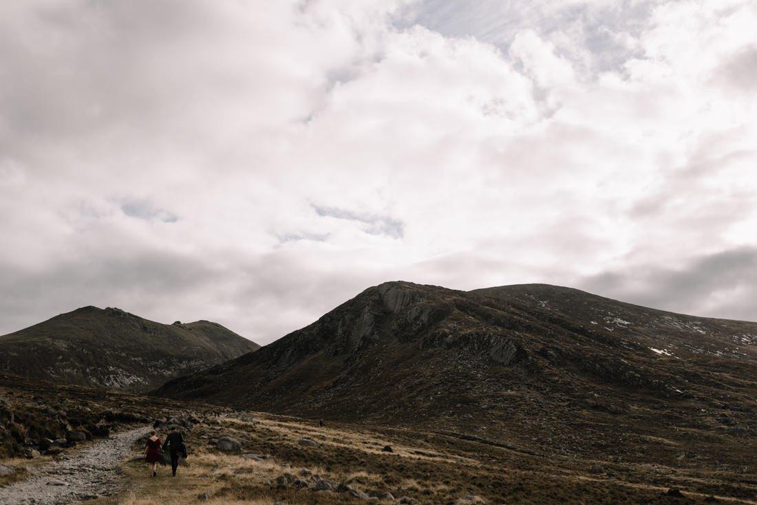 032 northern ireland wedding photographer mourne mountains elopement
