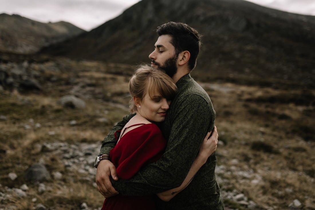 036 northern ireland wedding photographer mourne mountains elopement
