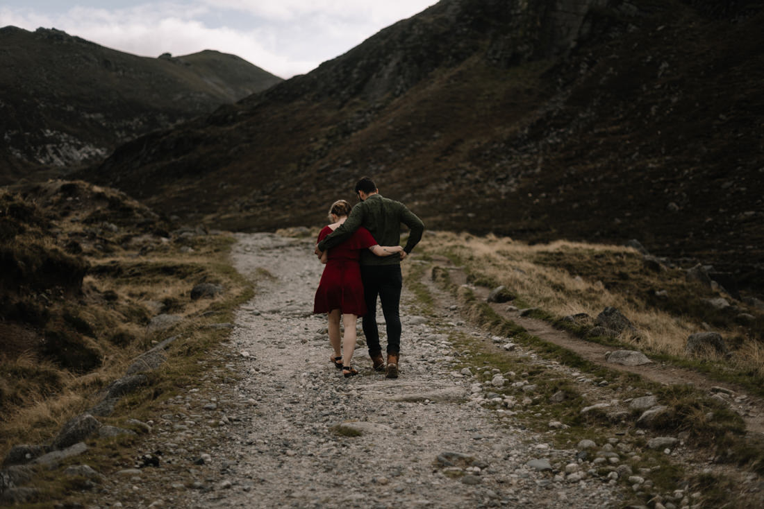 037 northern ireland wedding photographer mourne mountains elopement