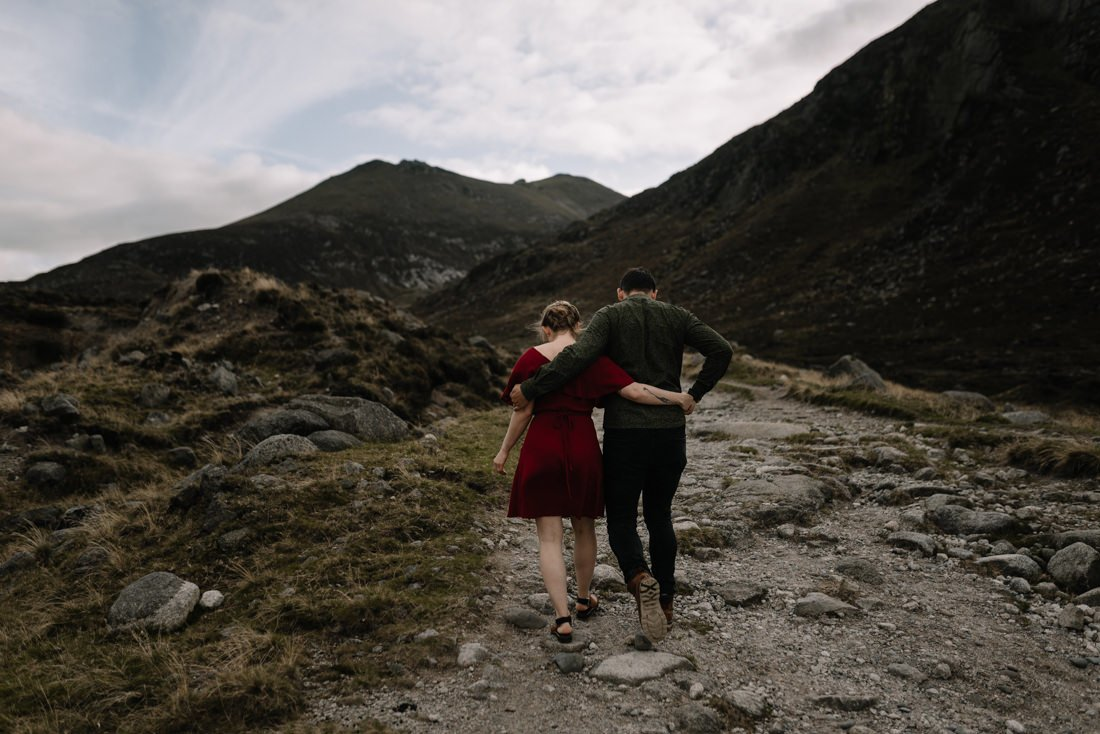 038 northern ireland wedding photographer mourne mountains elopement