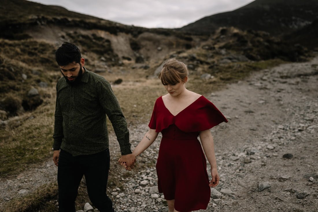 039 northern ireland wedding photographer mourne mountains elopement