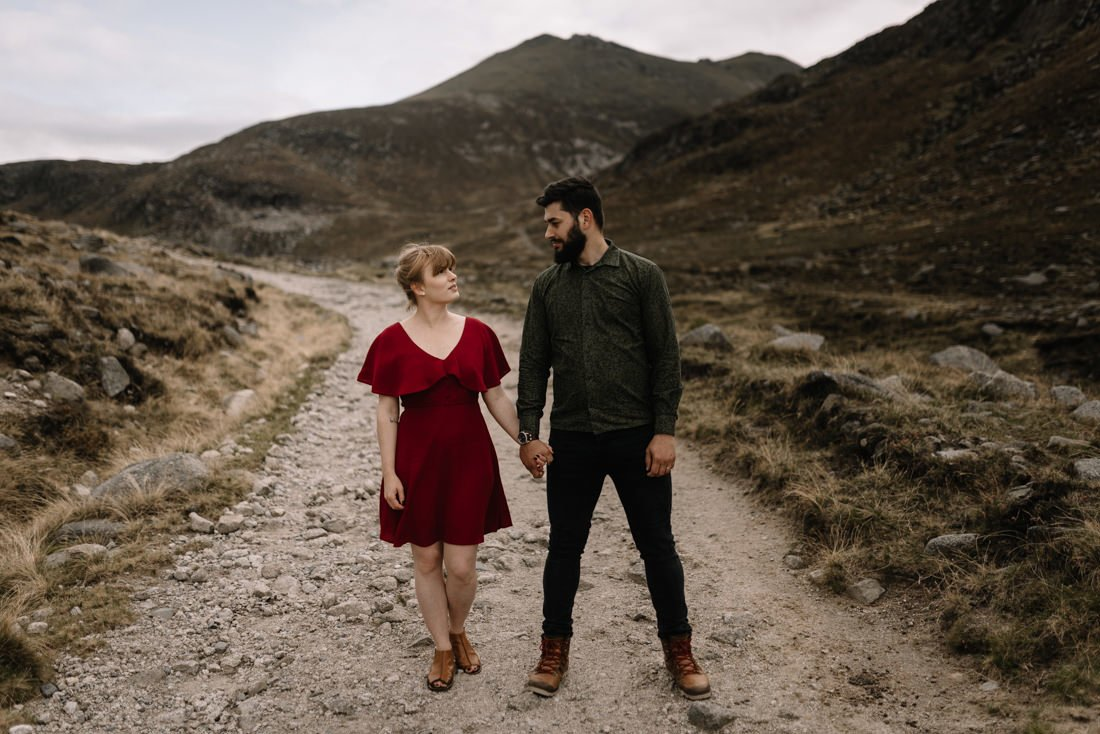 042 northern ireland wedding photographer mourne mountains elopement