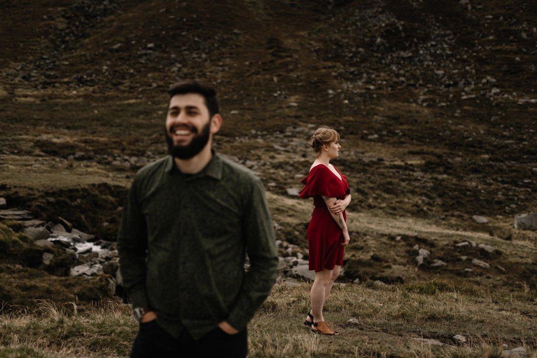 048 northern ireland wedding photographer mourne mountains elopement