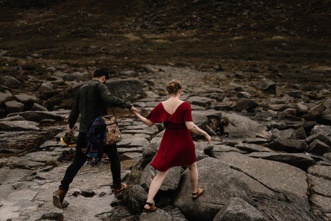 049 northern ireland wedding photographer mourne mountains elopement