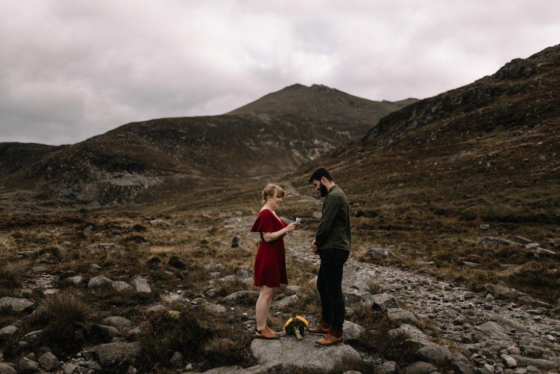 050 northern ireland wedding photographer mourne mountains elopement