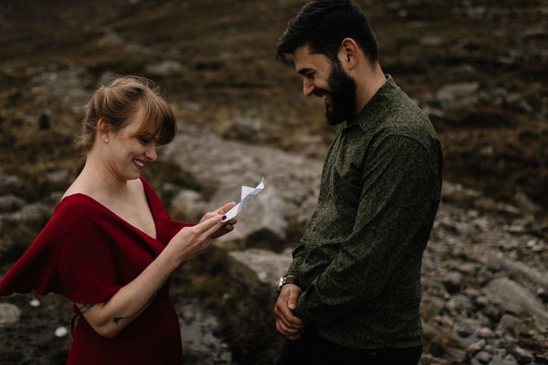 054 northern ireland wedding photographer mourne mountains elopement