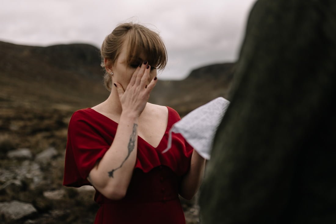 055 northern ireland wedding photographer mourne mountains elopement