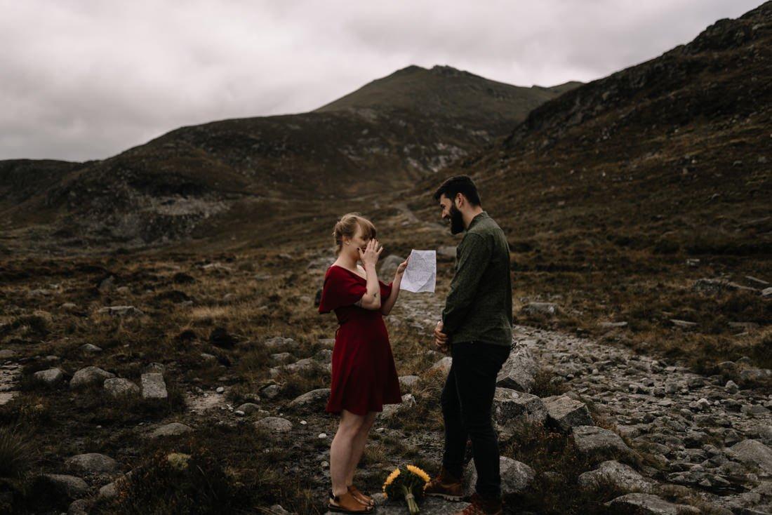 056 northern ireland wedding photographer mourne mountains elopement