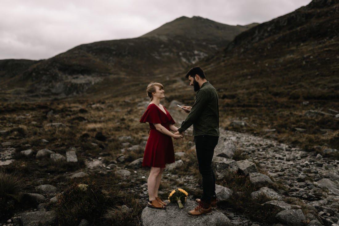 060 northern ireland wedding photographer mourne mountains elopement