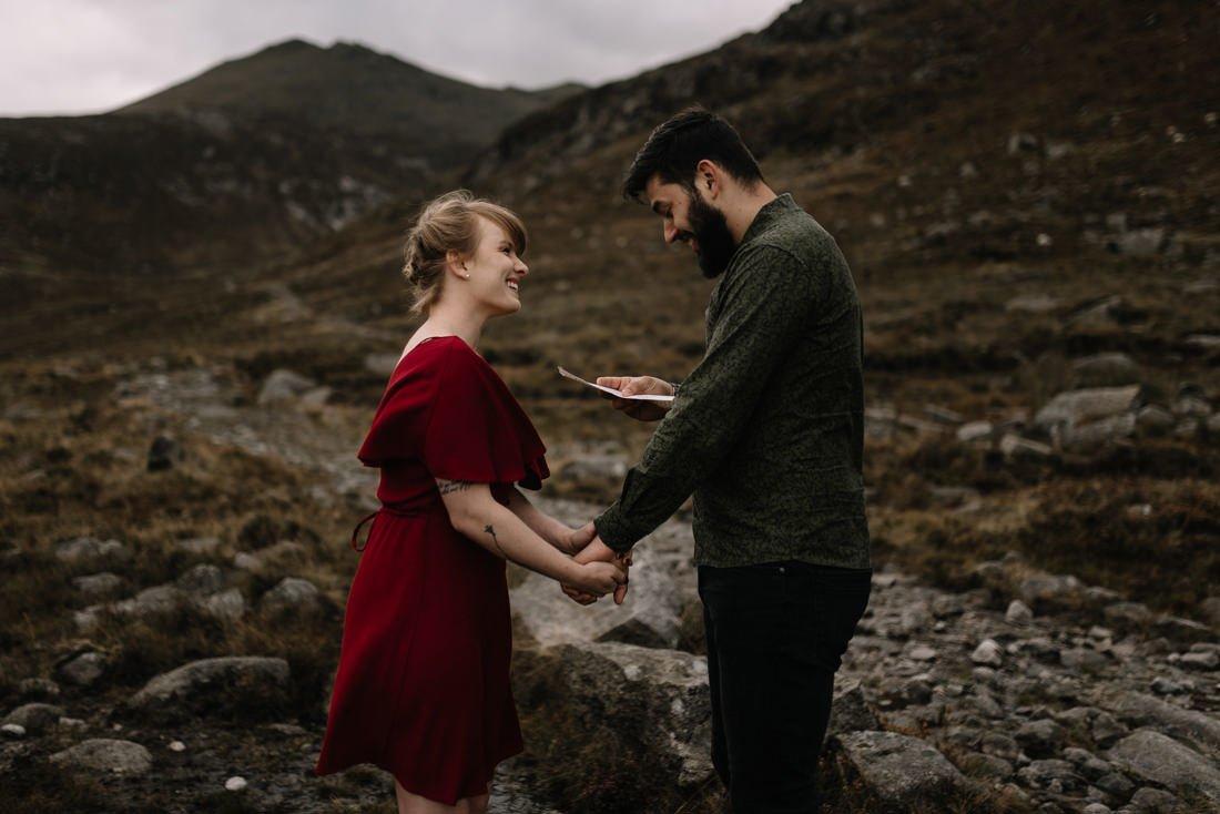 061 northern ireland wedding photographer mourne mountains elopement