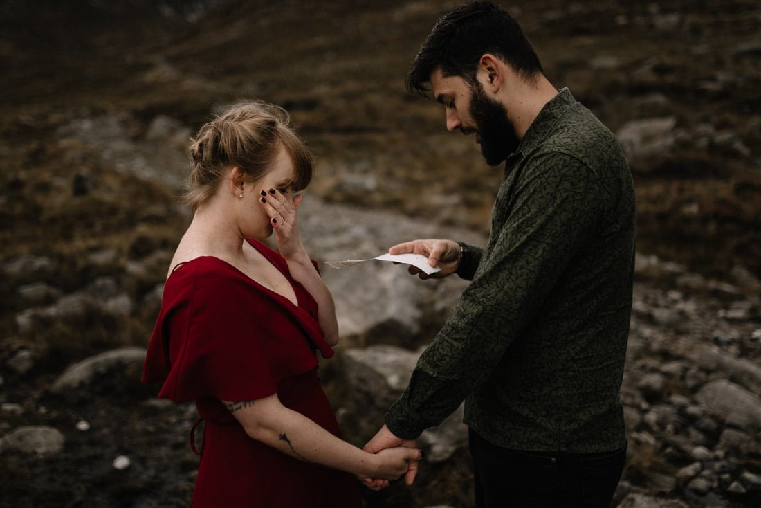 063 northern ireland wedding photographer mourne mountains elopement