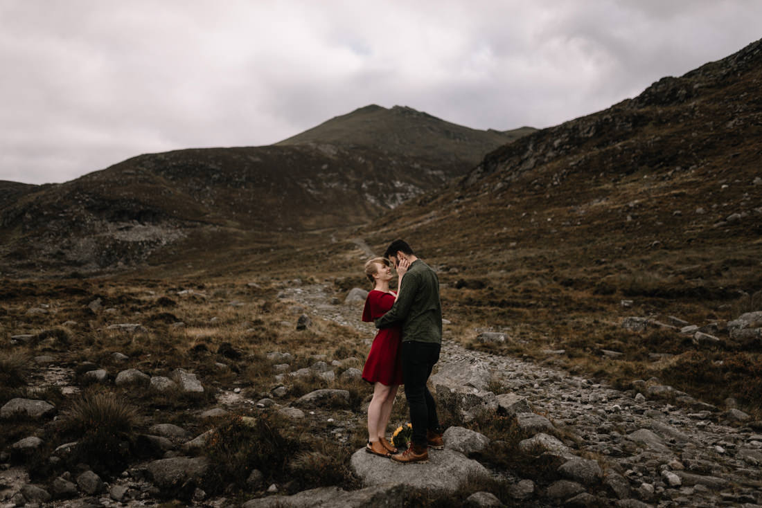 066 northern ireland wedding photographer mourne mountains elopement