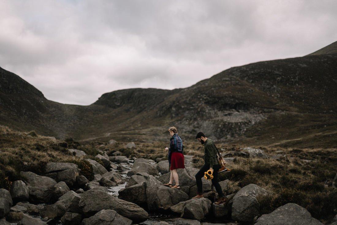 068 northern ireland wedding photographer mourne mountains elopement
