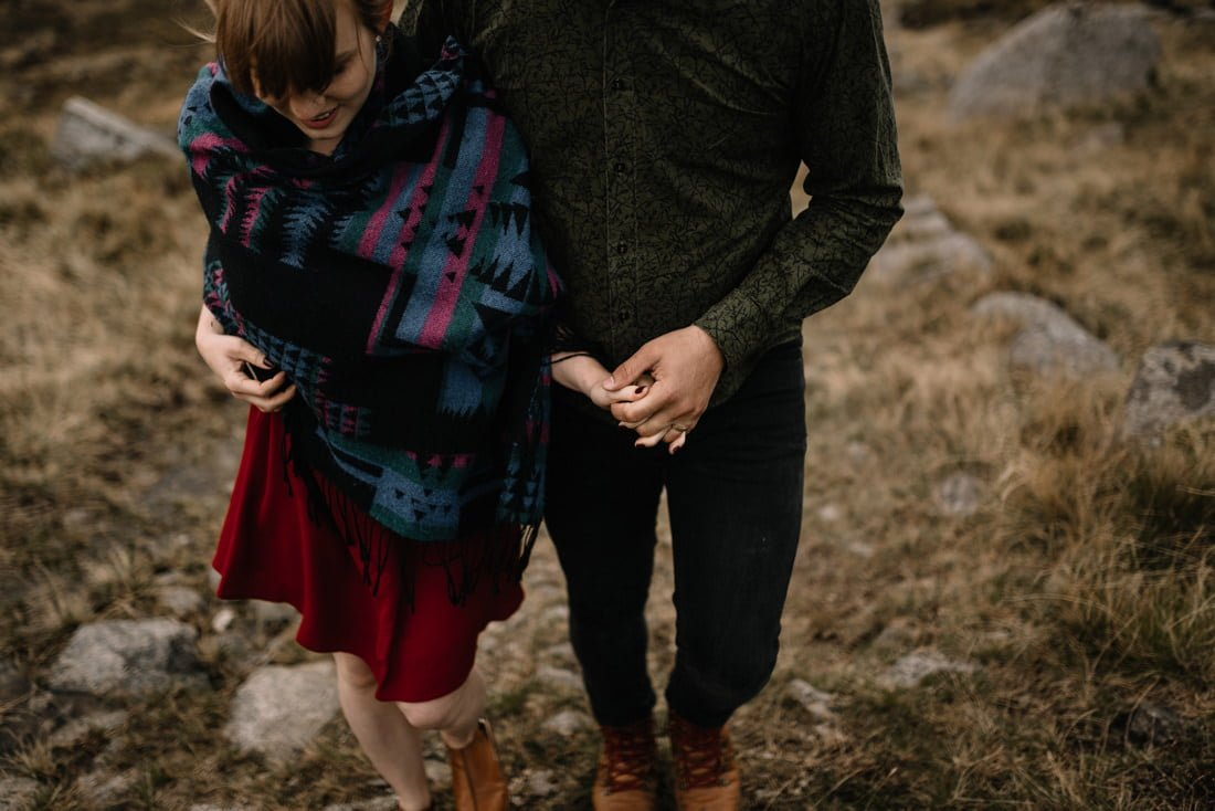 071 northern ireland wedding photographer mourne mountains elopement