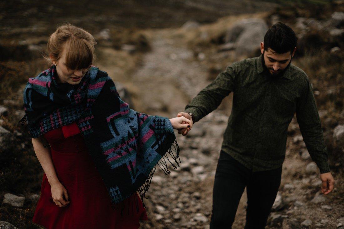 073 northern ireland wedding photographer mourne mountains elopement