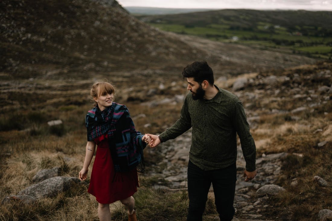 074 northern ireland wedding photographer mourne mountains elopement
