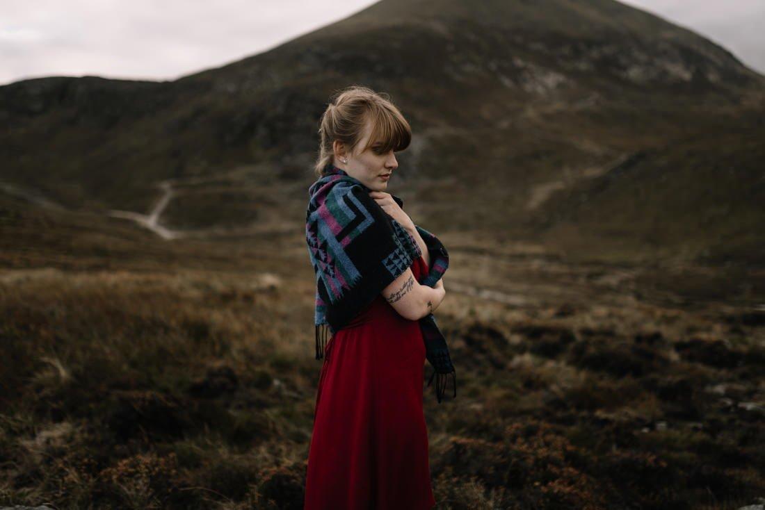 078 northern ireland wedding photographer mourne mountains elopement