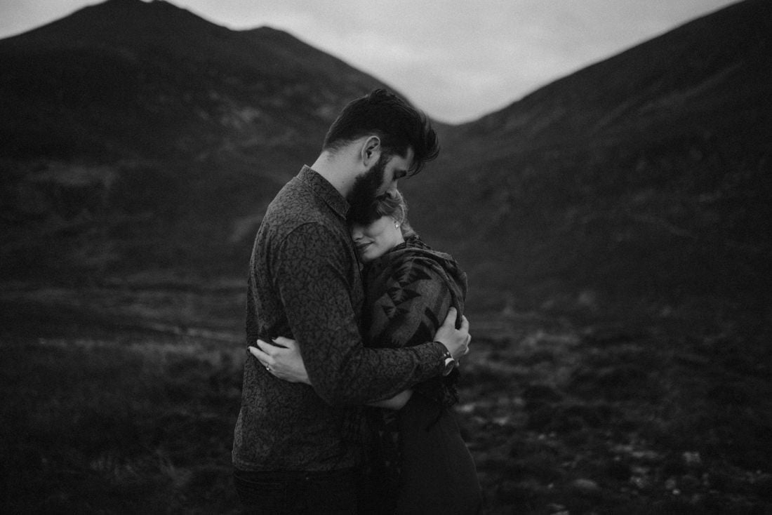 079 northern ireland wedding photographer mourne mountains elopement