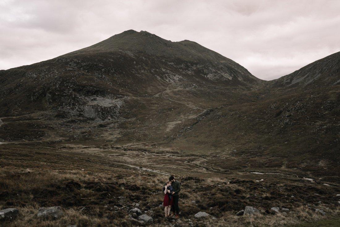 083 northern ireland wedding photographer mourne mountains elopement