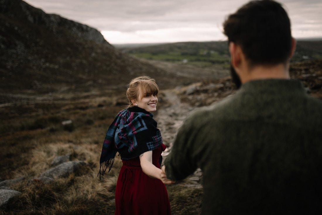 086 northern ireland wedding photographer mourne mountains elopement
