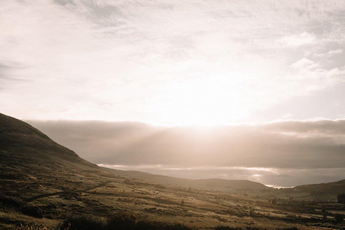 088 northern ireland wedding photographer mourne mountains elopement