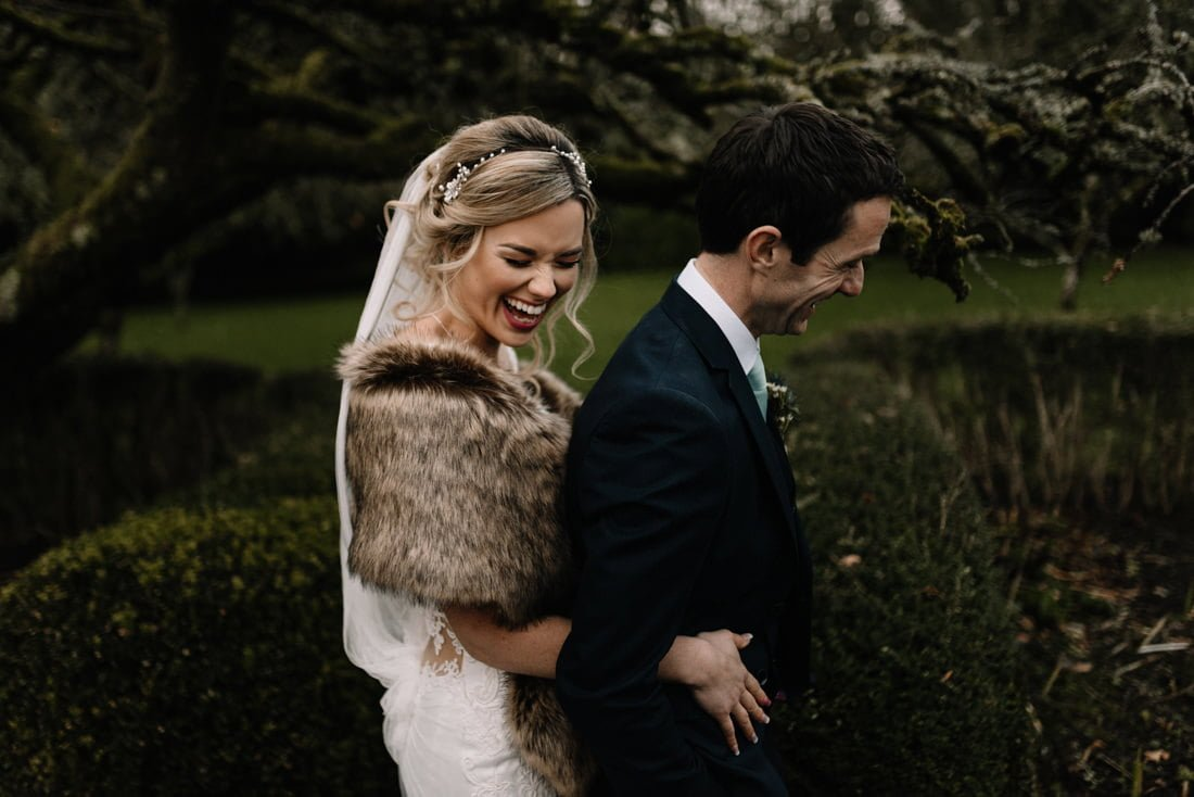 The Beautiful Winter Wedding At Rathsallagh House
