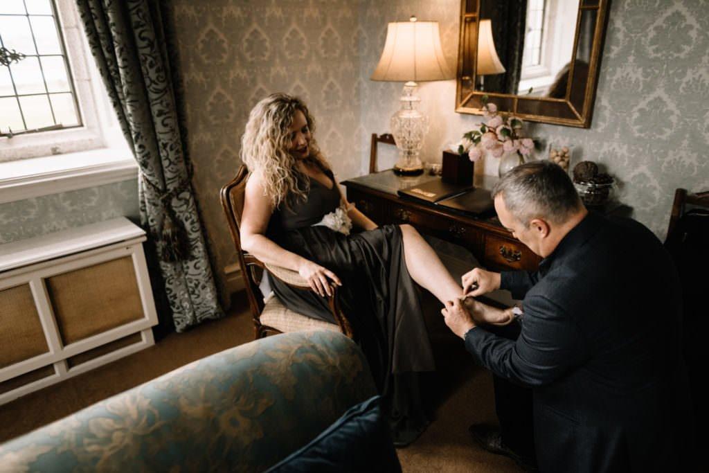 013 waterford castle wedding photographer ireland elopement