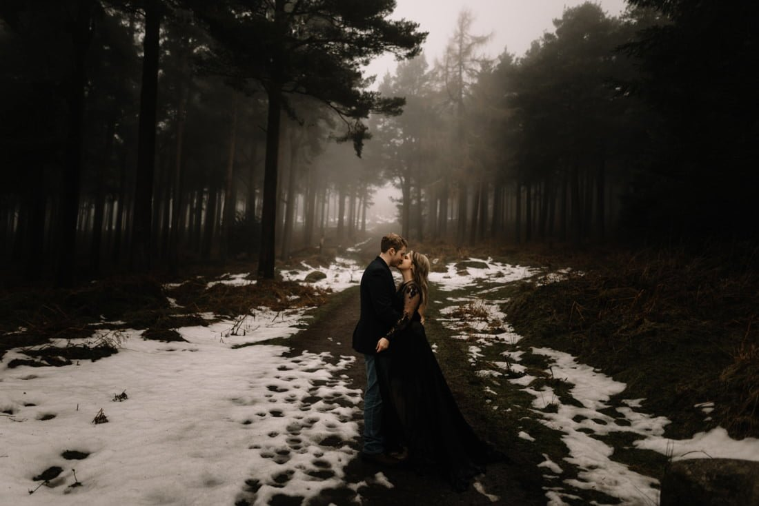 014 a snowy winter anniversary session in wicklow mountains wedding photographer dublin