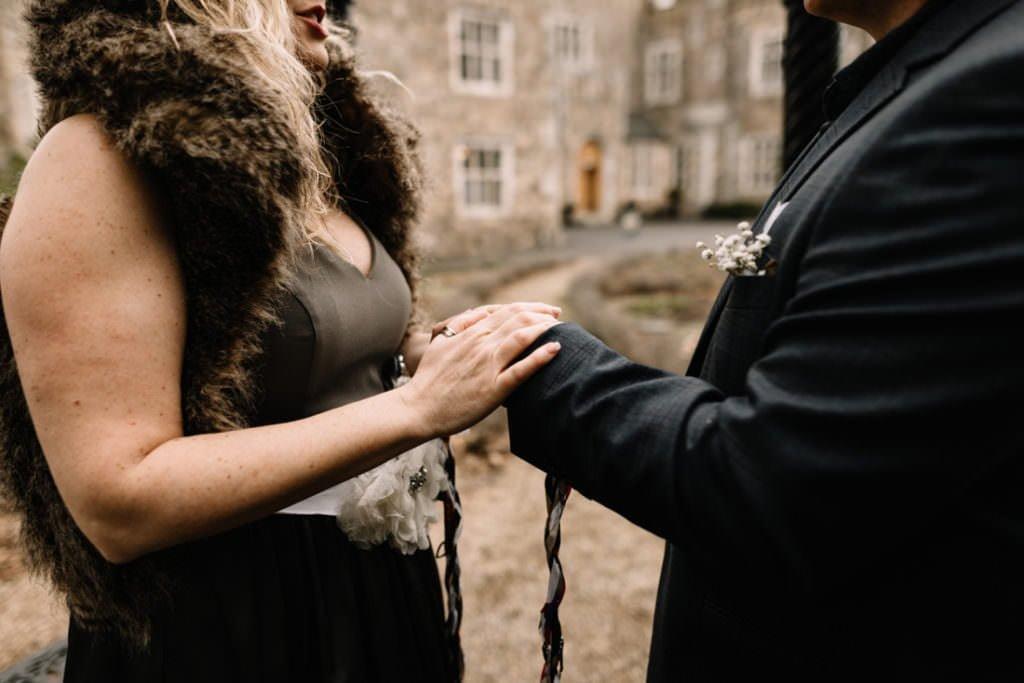 027 waterford castle wedding photographer ireland elopement