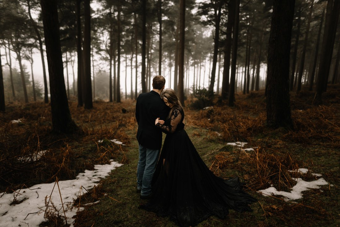 029 a snowy winter anniversary session in wicklow mountains wedding photographer dublin