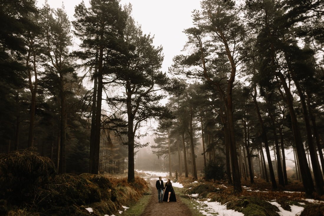 033 a snowy winter anniversary session in wicklow mountains wedding photographer dublin